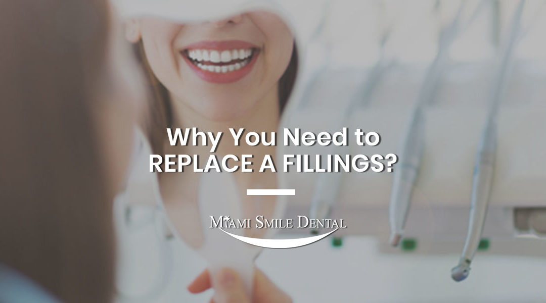 why you need to replace filling