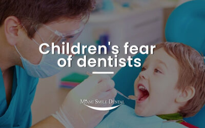 Children's fear of dentists